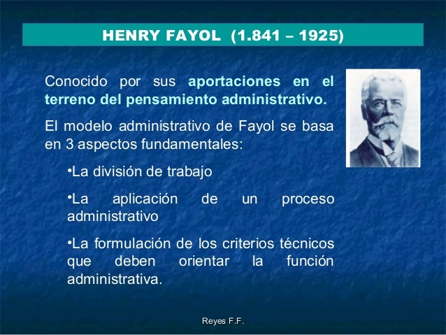 similarities of frederick taylor and henry fayol
