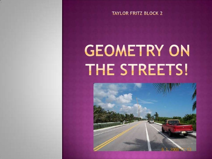 Taylor Fritz Block 2geometry on the streets!<br />