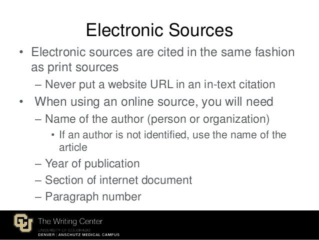 citing internet sources on a term paper If you chose the topic business on the internet and focused your material into your paper without citing the sources that you use allows other.