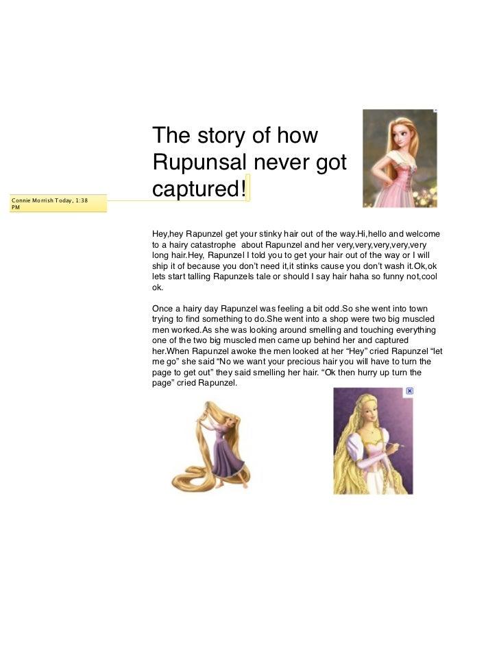 The story of how                             Rupunsal never gotConnie Morrish Today, 1:38                             capt...
