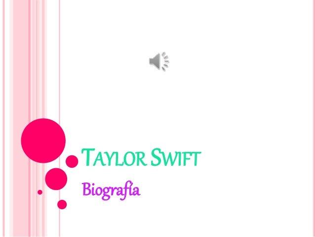 TAYLOR SWIFT Biografía