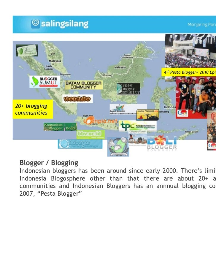 4th Pesta Blogger+ 2010 Epicentrum, Jakarta, 30 Oct20+ bloggingcommunities Blogger / Blogging Indonesian bloggers has been...