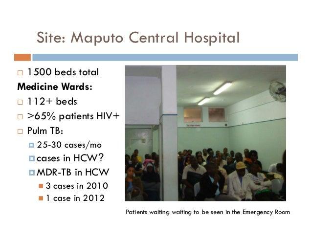 Hospital Central de Maputo Mozambique Maputo Central Hospital