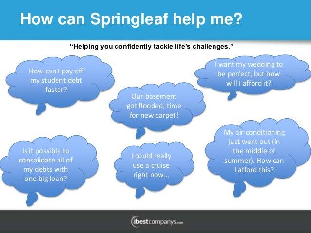 Springleaf loan jobs