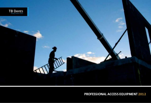 PROFESSIONAL ACCESS EQUIPMENT 2012