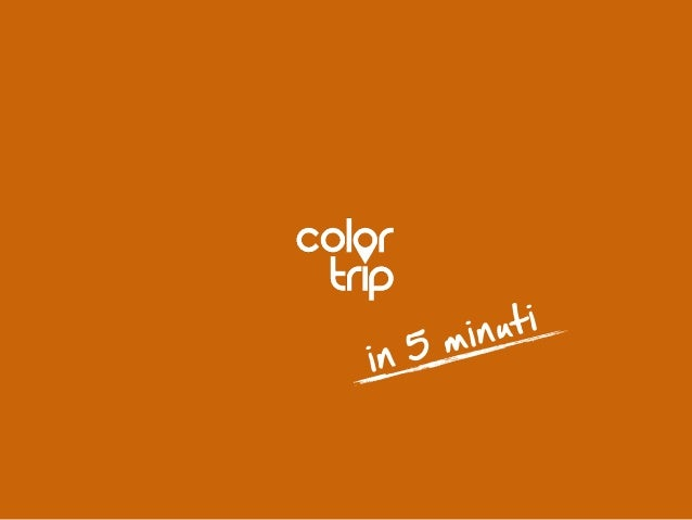 Color Trip - elevator pitch at TBE12
