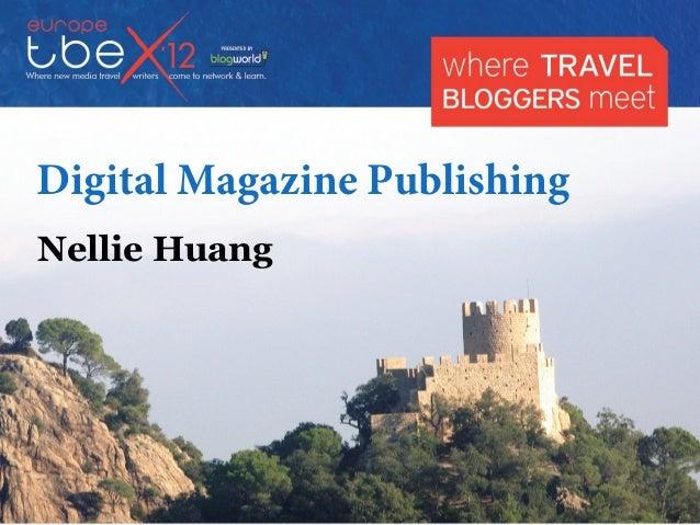 Tbex 2012 Costa Brava Digital Magazine Publishing