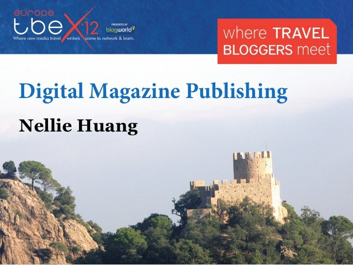 Tbex digital magazine publishing