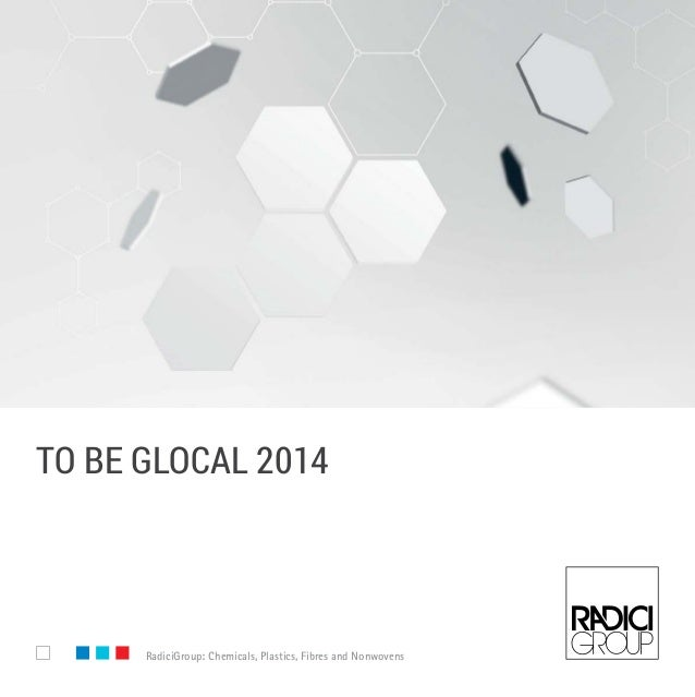 To Be Glocal 2014 - RadiciGroup Corporate Brochure - English