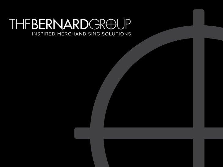 The Bernard Group Sample Portfolio