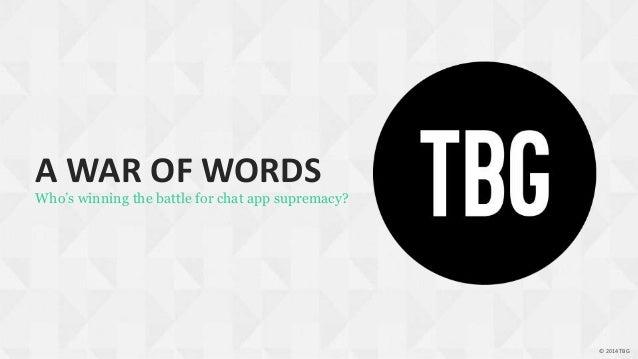 Tbg social chat_apps_2014