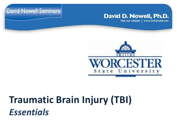 Traumatic Brain Injury (TBI)Essentials
