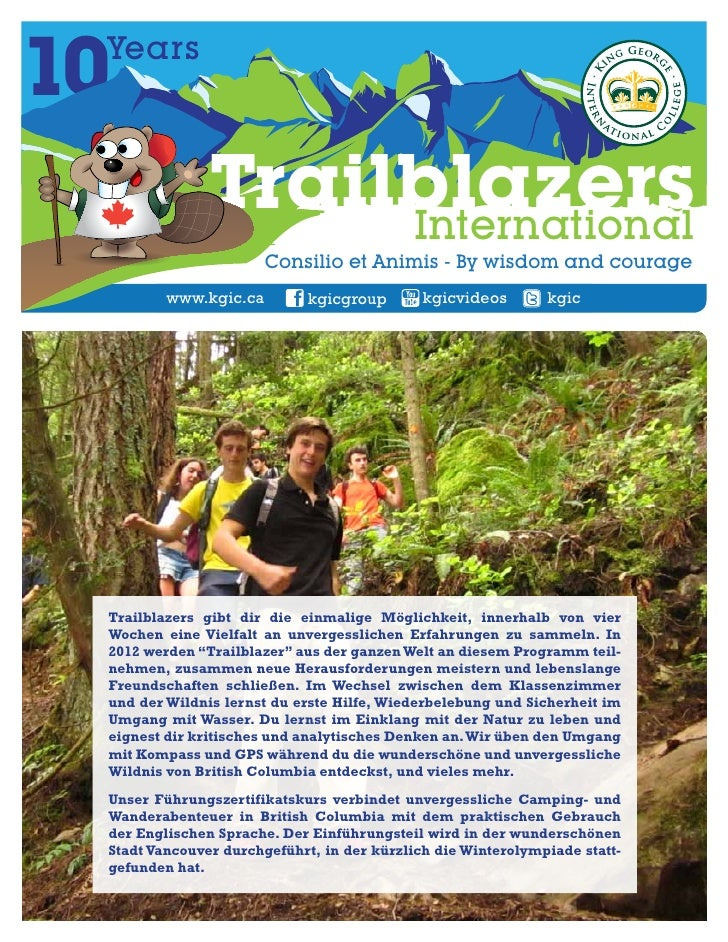 Trailblazer  flyer german 2012