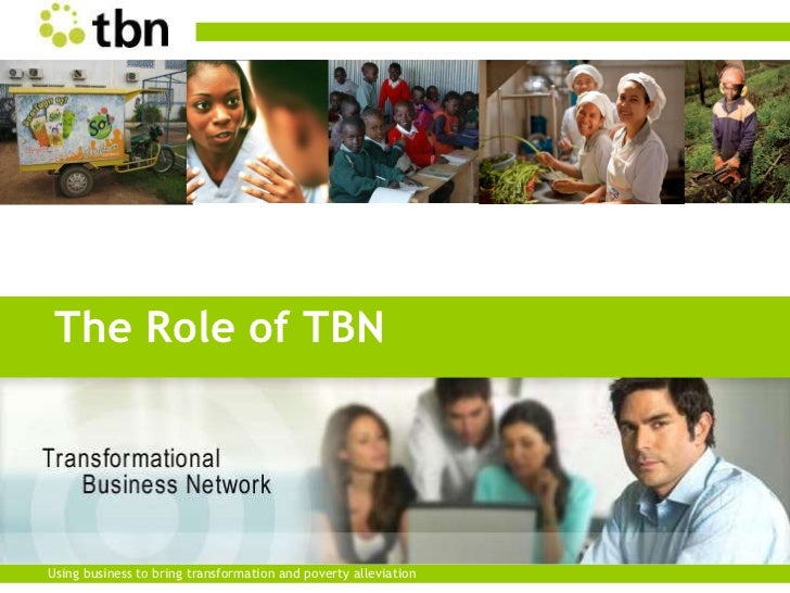TBN National Conf. '11 - Andrew Carruthers - The Role of TBN