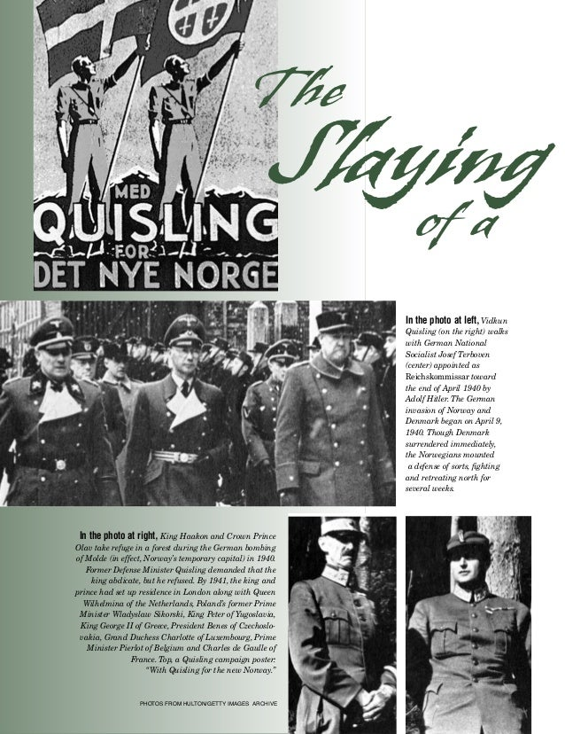 The Epic of Vidkun Quisling