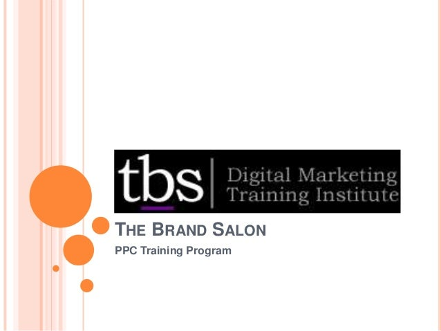 THE BRAND SALON PPC Training Program