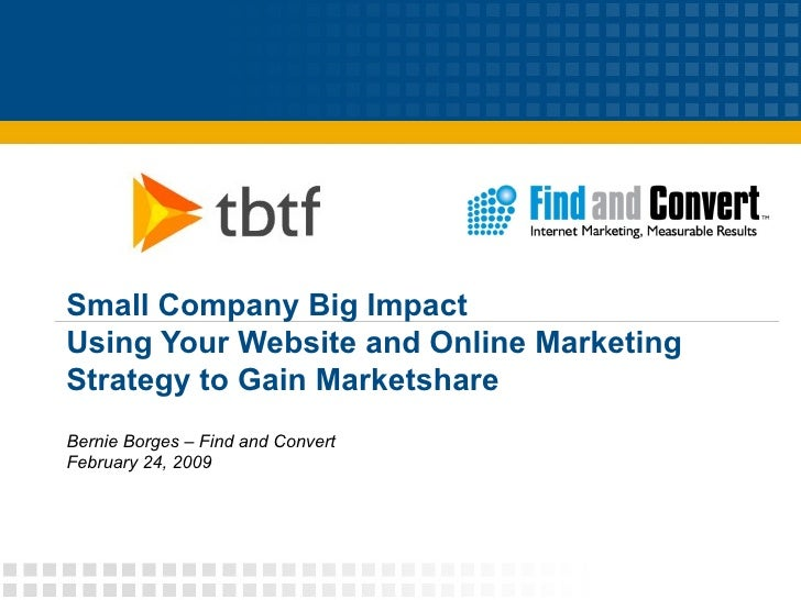 Small Company: Big Impact