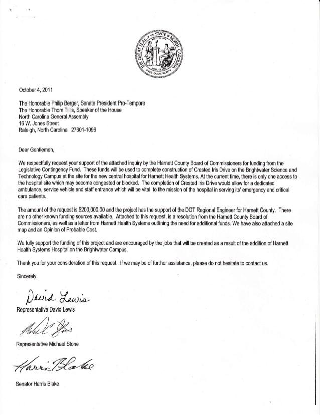 Harnett Health System Grant Request