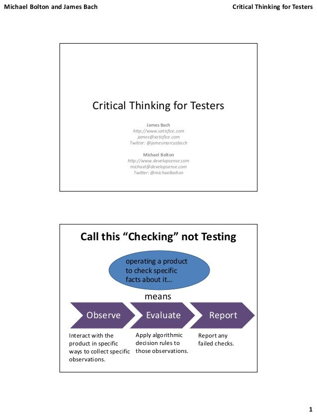 critical thinking software