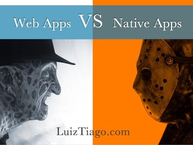 Monografia - Mobile Web Apps vs Native Apps