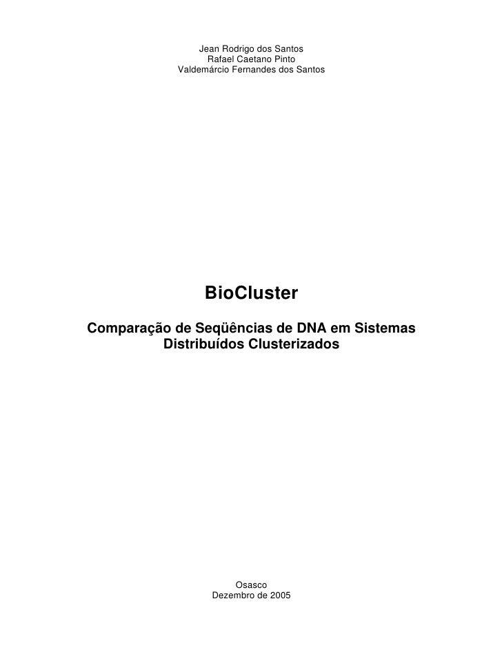 Tcc Bio Cluster