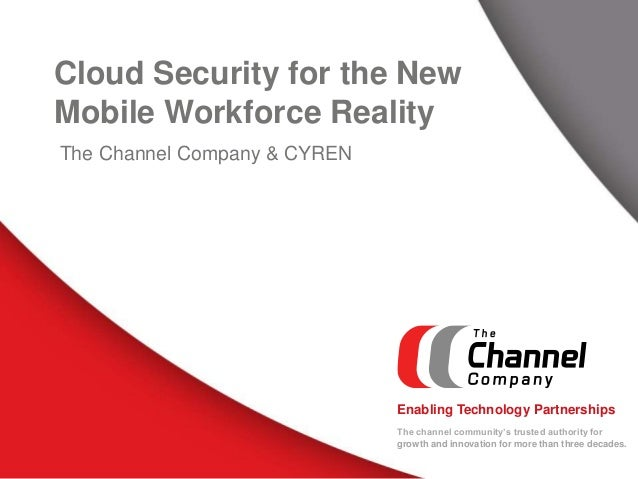 Cloud Security for the New Mobile Workforce Reality