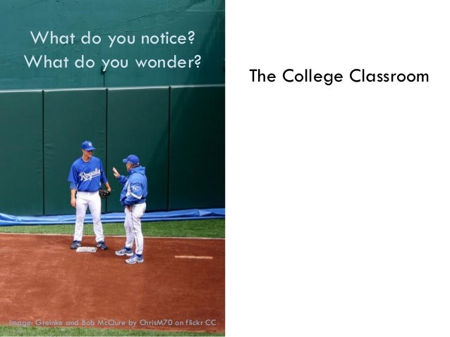 The College Classroom Week 1: Introduction