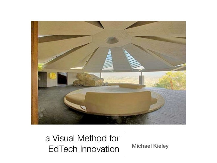 a Visual Method for                      Michael Kieley EdTech Innovation