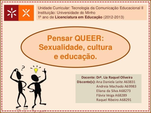 Unidade Curricular: Tecnologia da Comunicação Educacional IIInstituição: Universidade do Minho1º ano de Licenciatura em Ed...