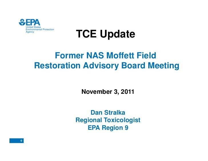 Moffett RAB TCE Update