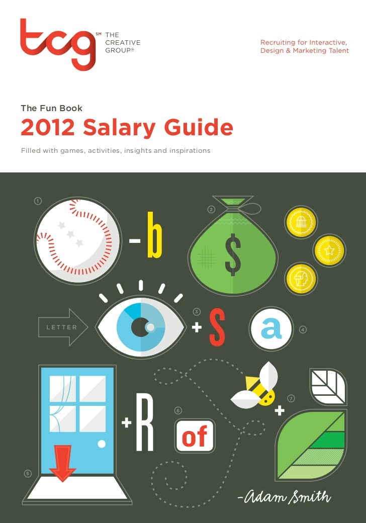 The Fun Book2012 Salary GuideFilled with games, activities, insights and inspirations     1                               ...