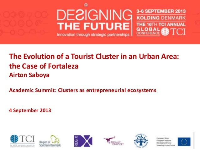 TCI2013 The evolution of a tourist cluster in an urban area: the case of Fortaleza