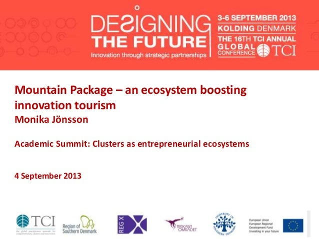 TCI2013 Mountain Package – an ecosystem boosting innovation tourism