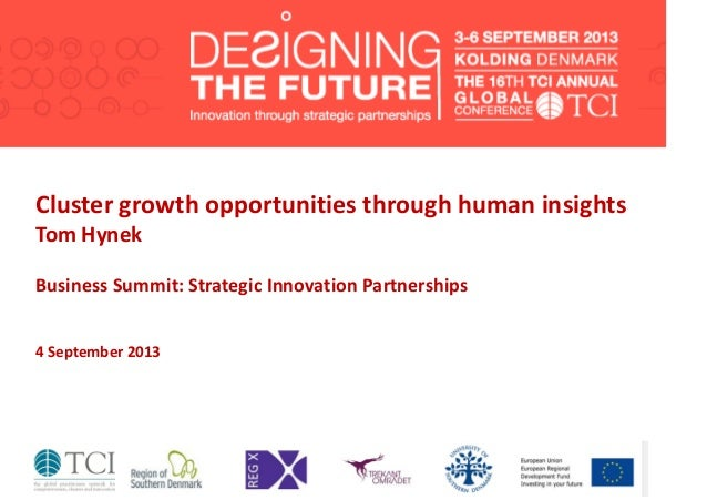 TCI2013 Cluster growth opportunities through human insights