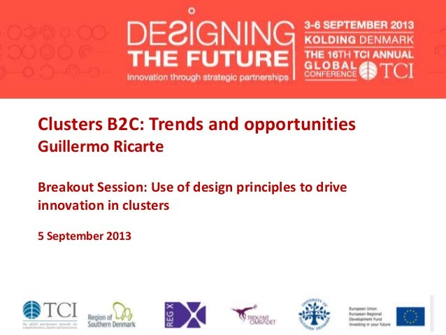 TCI 2013 Clusters B2C: Trends and opportunities
