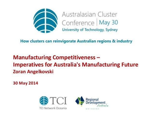 TCIOceania14 Manufacturing competitiveness