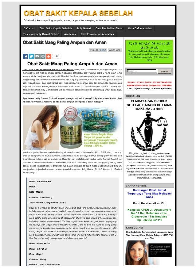 Obat Sakit Maag Paling Ampuh dan Aman   OBAT SAKIT KEPALA ...