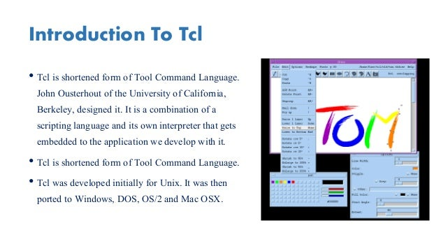 Download tcl interpreter