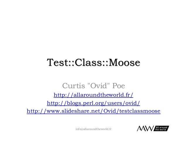 Test::Class::Moose