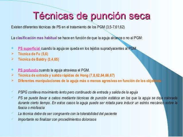 T cnica de punci n seca for Tecnicas gastronomicas pdf