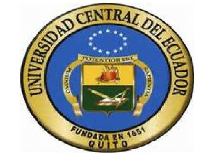 UNIVERSIDAD CENTRAL DEL ECUADOR        FACULTAD DE ODONTOLOGÍA   CÁTEDRA DE TÉCNICAS DE AUTO-APRENDIZAJETEMAS:  EL FICHAJ...
