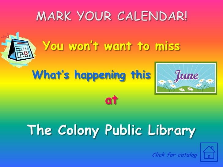 TCPL June 2009 Events