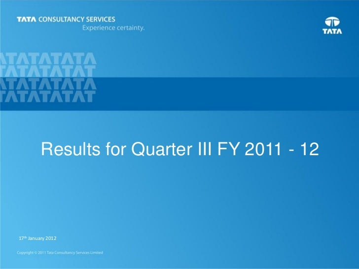 Tcs analysts q3_12