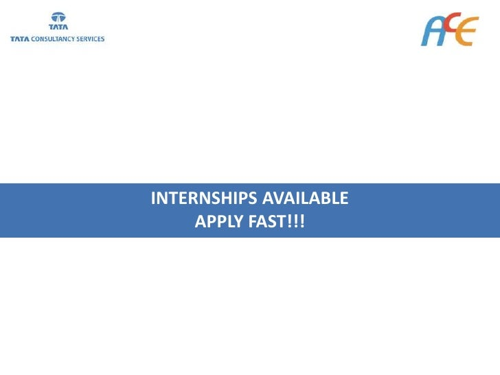 INTERNSHIPS AVAILABLE      APPLY FAST!!!