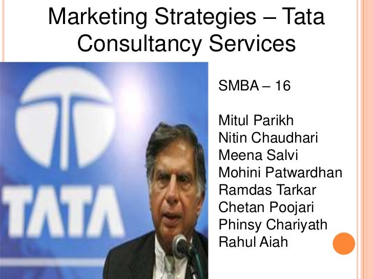 tata consultancy services selling certainty Tata consultancy services selling certainty case analysis this case provides an opportunity to examine the growth of offshore services from the perspective of india's oldest and largest it services firm.