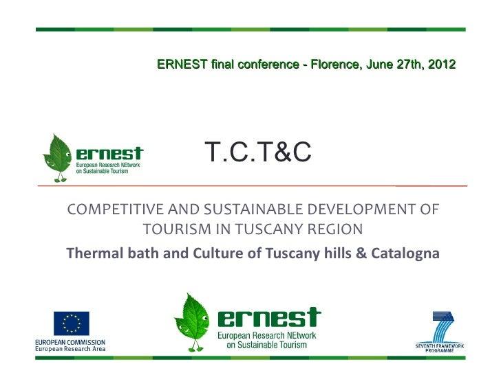 TCT&C Ernest Conference 120627