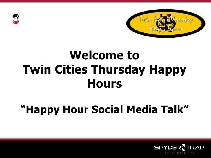 Spyder Trap Social Media For Business Presentation
