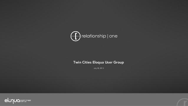 Twin Cities Net User Group 62