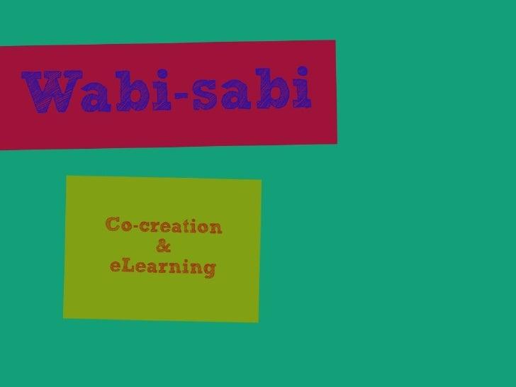 Wabi-sabi and eLearning