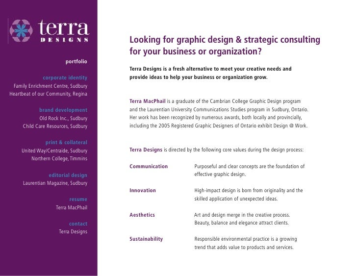 Looking for graphic design & strategic consulting                                      for your business or organization? ...